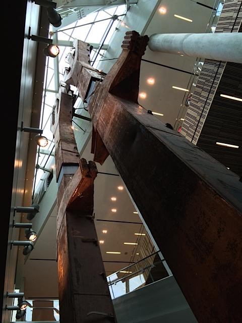 """""""Trident""""-Stahlträger: 84 davon waren Hauptträger  der WTC-Türme"""