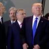 Trump rempelt, pöbelt und stümpert durch Europa